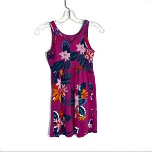 Girls Hawaiian Print Dress